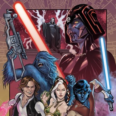 X-Men & Star Wars mash-up
