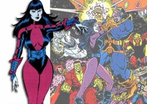 Nebula Marvel Comics #NerdSwag