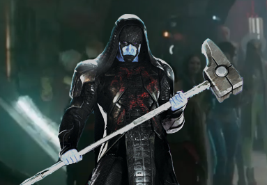 Lee Pace as 'Ronan The Accuser' in GOTG!
