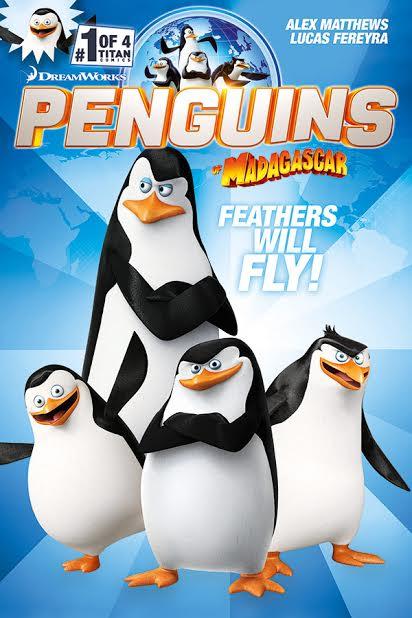 Penguins of Madagascar #1 Cover