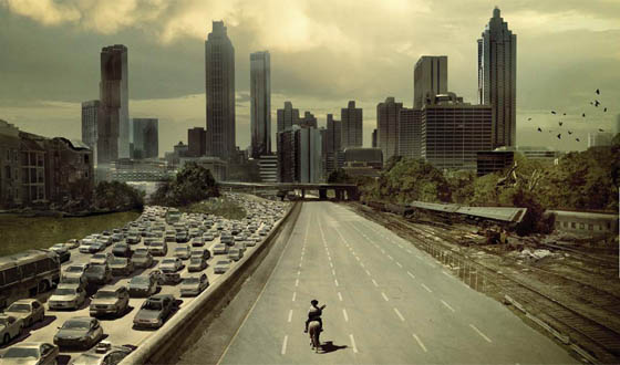 The Walking Dead meets LA traffic